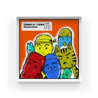 TOMMY-ZAWA ALL STARS Acrylic Block