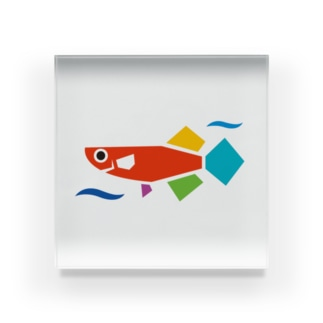 JMAロゴのみ Acrylic Block
