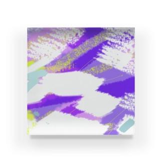 この色合い!(01) Acrylic Block