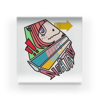 のあたんAIアニメコミック・ブロック Acrylic Block