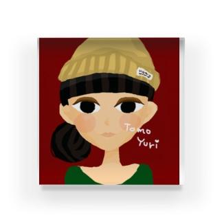 POP Girl Acrylic Block