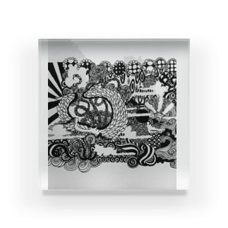 浮雲 Acrylic Block