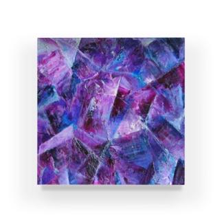 アメジスト Acrylic Block