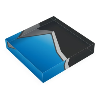 KADO BLUE Acrylic Block