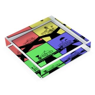 何字路 Acrylic Block