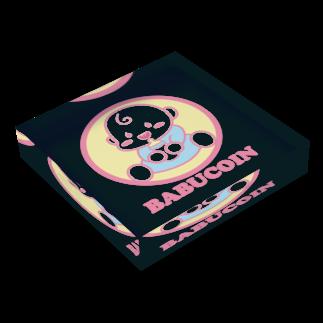Goma46のBABUCOIN アクリルブロック
