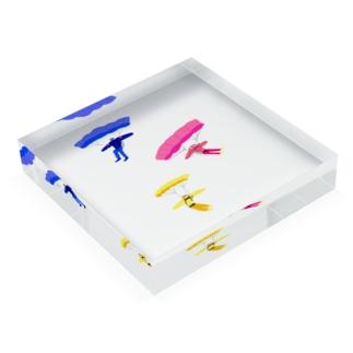 パラグライダー Acrylic Block