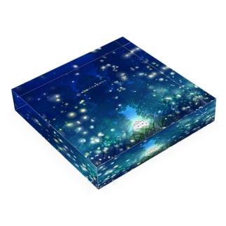 蛍。 Acrylic Block