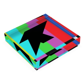 COLOR BAR BLOCK Acrylic Block
