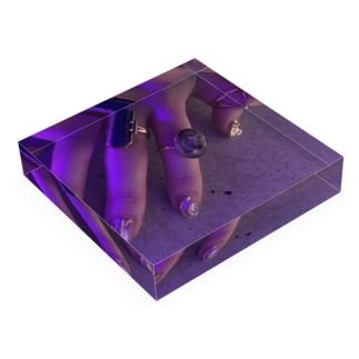nail デザイン Acrylic Block