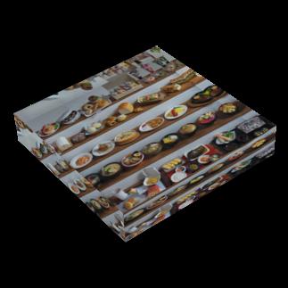 ちょび子のミニチュアフードのザ・ミニチュアフード アクリルブロック