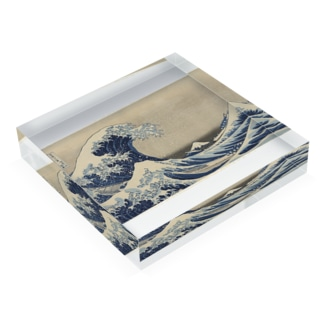 "Under the Wave off Kanagawa (Kanagawa oki nami ura), also known as the Great Wave, from the series ""Thirty-six Views of Mount Fuji (Fugaku sanjurokkei)"", c. 1830/33 