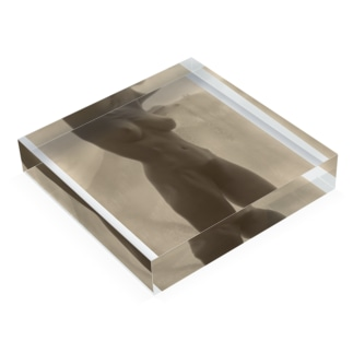 Georgia O'Keeffe—Torso, 1918   Alfred Stieglitz Acrylic Block