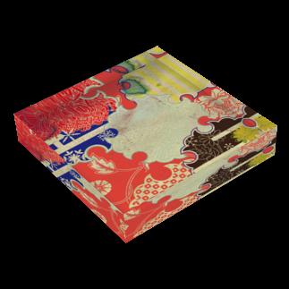 無孔笛のJapanese アクリルブロック