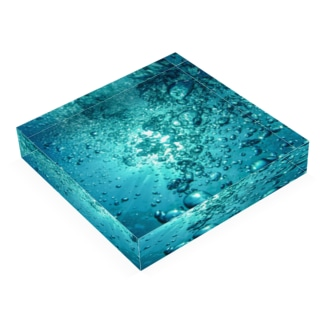 水中 Acrylic Block