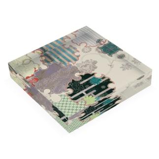 雪輪 Acrylic Block
