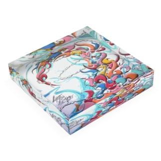 MAD TUSUNAMI Acrylic Block