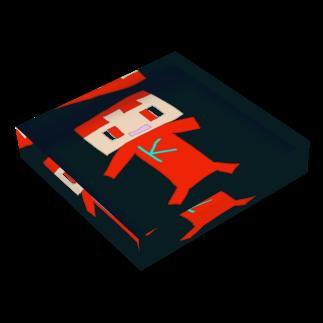 ☆コヒゲームズグッズショップ☆のコヒ剣士 Acrylic Blockの平置き