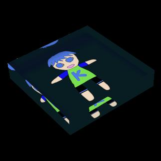 ☆コヒゲームズグッズショップ☆のコヒアーチャー (VER 2.0) Acrylic Blockの平置き