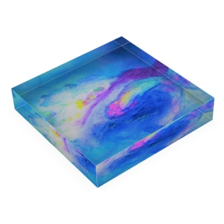 Rainbow Acrylic Block