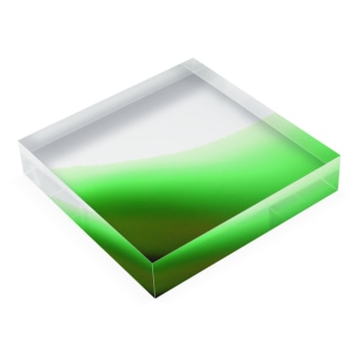 wave Acrylic Block