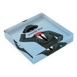 透明人間 Acrylic Block