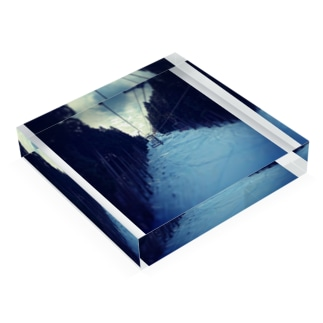 冬山 Acrylic Block