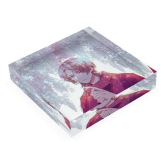 藤棚/清光 Acrylic Block