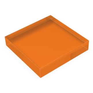 単色 Acrylic Block