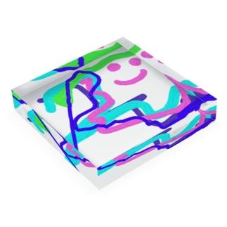 face Acrylic Block