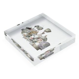 リサイクル Acrylic Block