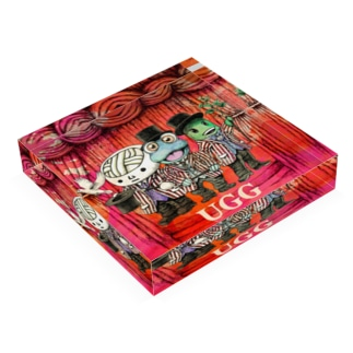 UGGマジックショー Acrylic Block