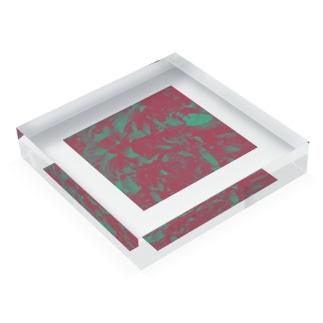 ヤマモモ Acrylic Block