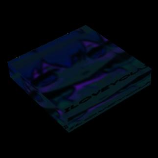 ᬤ䈸䐿䵅⩈猸_砳⭅㤛雪_/p⡂ aranoiaの1.95.6 Acrylic Blockの平置き