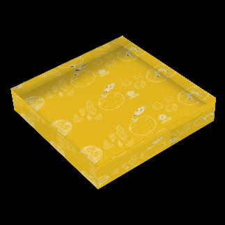 ORUBYの柚子やかな日々。 Acrylic Blockの平置き