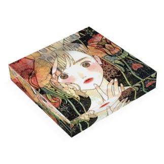 poppy make Acrylic Block