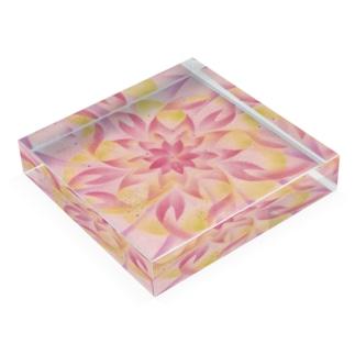 SA・KU・RA Acrylic Block
