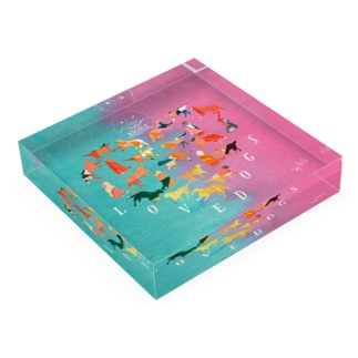 LOVE NICOLE Acrylic Block