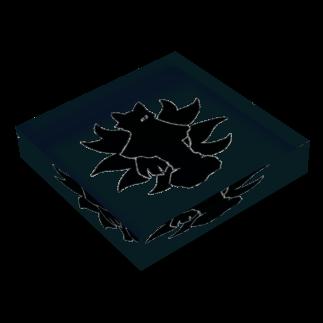 カリツォーの玉藻前 Acrylic Blockの平置き