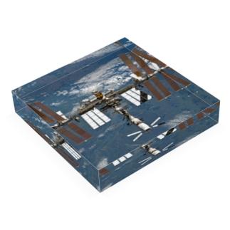 国際宇宙ステーション( ISS ) Acrylic Block