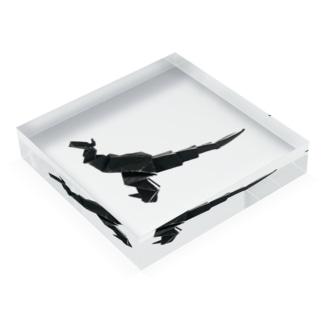 りしゆな:恐竜 by はせりょう Acrylic Block