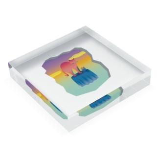 table cat Acrylic Block