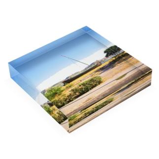 ポルトガル:木造帆船 Portugal: Boat Acrylic Block