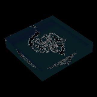 カリツォーの野衾 Acrylic Blockの平置き