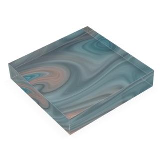 孵爛カラー Acrylic Block
