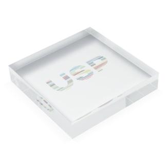 USPの商品やサービスが持つ独自の強み(USP) Acrylic Blockの平置き