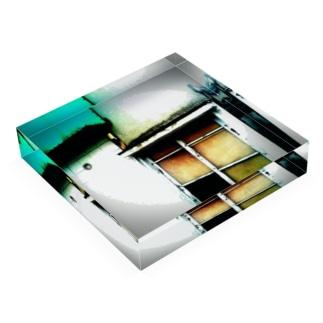 窓。 Acrylic Block