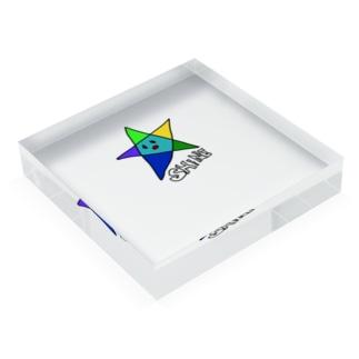 Shine星シンプル Acrylic Block