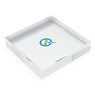 KagaQ(かがく)のKagaQ公式Logo Acrylic Blockの平置き