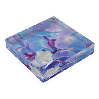 marihoの💠 Acrylic Blockの平置き